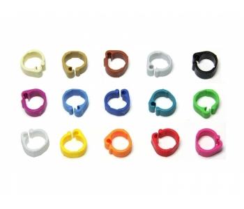Wachtelringe 8 mm in verschiedenen Farben