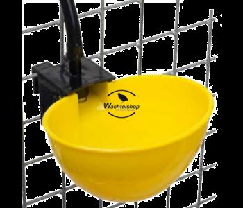 Automatische Beckentränke gelb