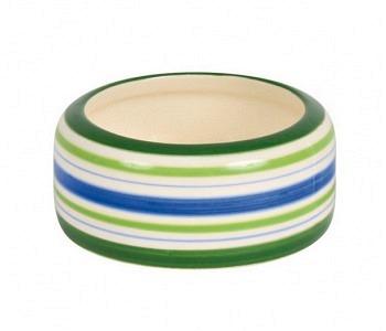 Keramik-Fressnapf farbig